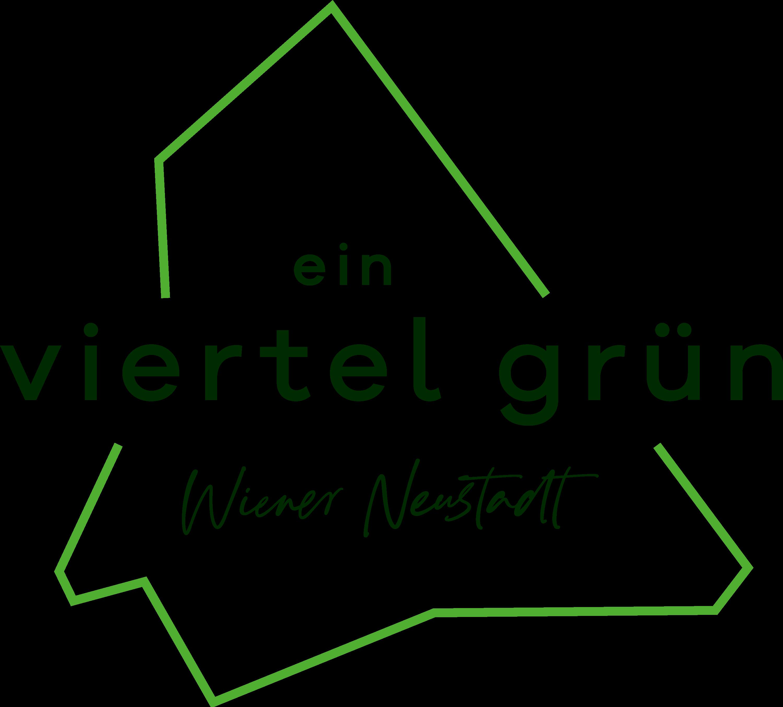 ein viertel grün Logo